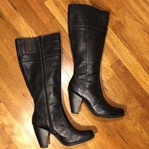 b.o.c. Shoes - B.O.C Leather Knee High Heel Boot SZ 8.5
